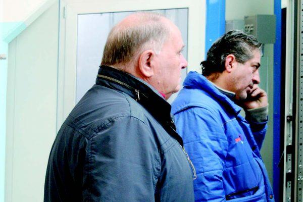 Il leader della verniciatura Massimo Malcangio con Francesco Soragni del Radial Group