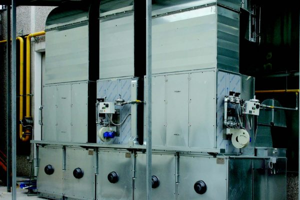 La centrale di distribuzione aria interna