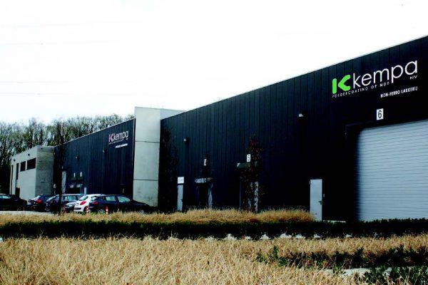 La sede di Kempa a Herentals, in Belgio.