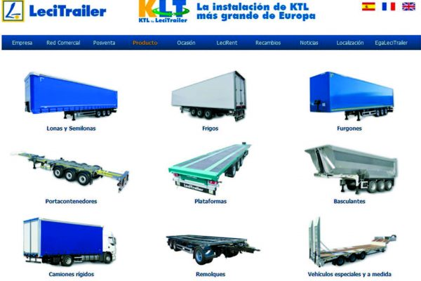 LeciTrailer offre prodotti personalizzati per tipo di carico o speciali, per esigenze particolari