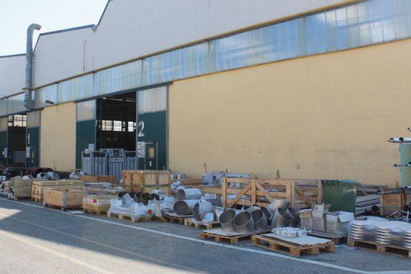 La visita ispettiva è stata organizzata alla FB-ITMI di Alberone di Cento, in provincia di Ferrara, azienda specializzata nella costruzione di impianti nel setore petrolifero, petrolchimico, oil& gas e altri.