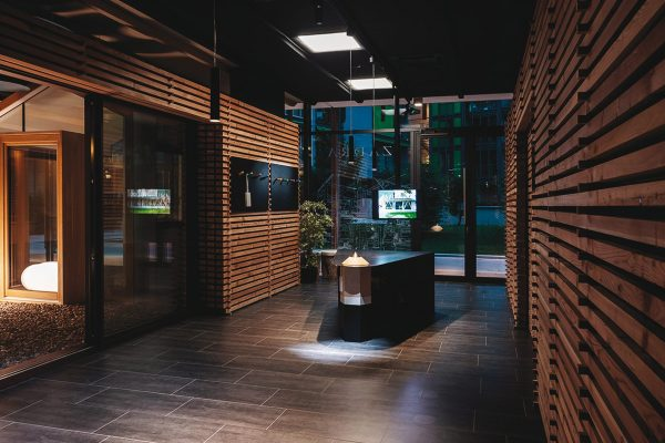 Lo showroom di Trento, la porta d'ingresso del mondo Zadra.