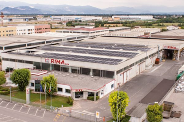 Lo stabilimento produttivo e quartier generale di Rima situato a Montichiari in provincia di Brescia (BS).