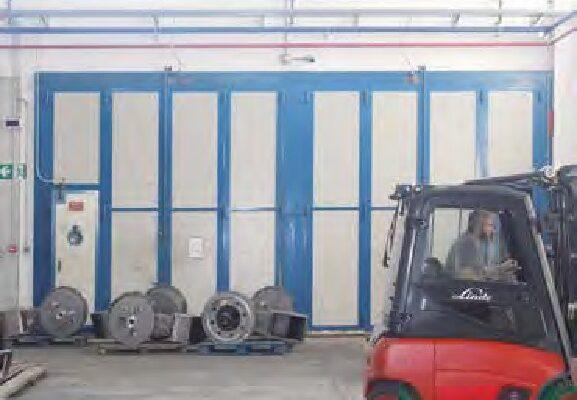 La cabina Vespa Sabbiatrici di sabbiatura non silicogena.