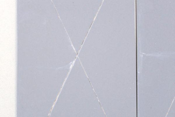 Il campione A è verniciato con il nuovo primer anticorrosivo completamente privo di zinco.