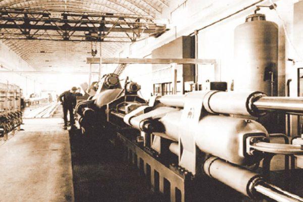 1962: nasce Metra, azienda dedicata alla produzione di profilati estrusi, oggi riconosciuta a livello internazionale come leader nel settore dell'alluminio