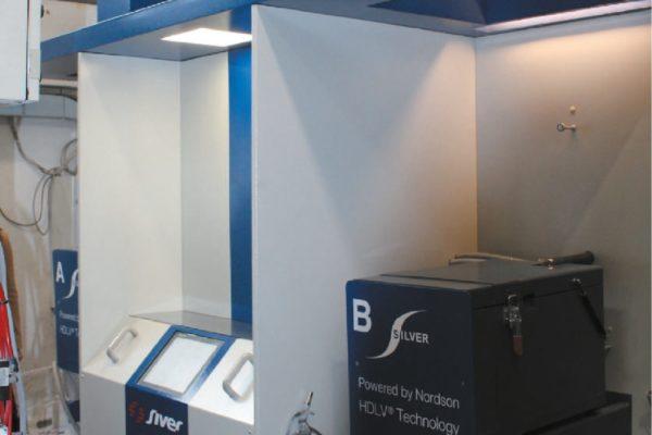 Il centro polveri TCC Dual di Siver, installato presso Bemmex