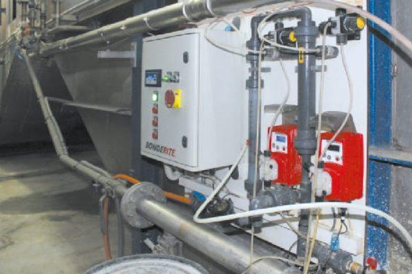 L'apparecchiatura per l'applicazione APNR.